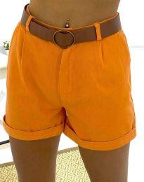 Pantaloni scurți - cod 2236 - 6 - portocaliu
