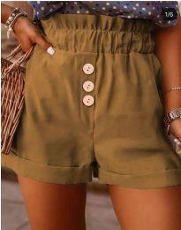 Pantaloni scurți - cod 9383 - maro