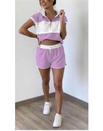 Set - cod 9955 - violet