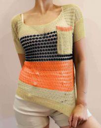Дамска тениска плетиво - код 7634 - 2