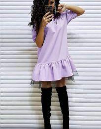 Rochie - cod 2856 - violet deschis
