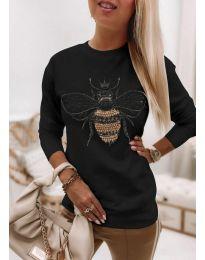 Bluza - cod 4824 - negru