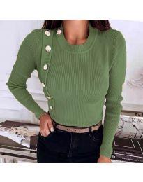 Bluza - cod 9989 verde măslin