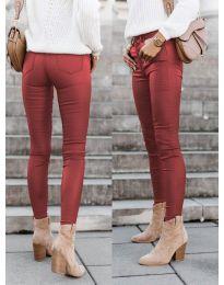 Pantaloni - cod 5052 - bordo
