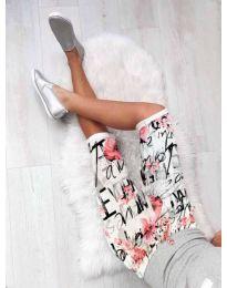 Pantaloni scurți - cod 180 - alb