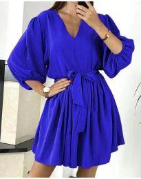 Rochie - cod 6210 albastru inchis