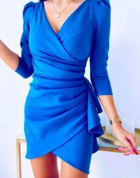 Rochie - cod 32897 - cer albastru