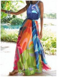 Rochie - cod 684 - multicolor