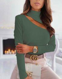 Bluza - cod 11490 - verde unt