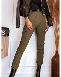 Pantaloni - cod 4842 - maro