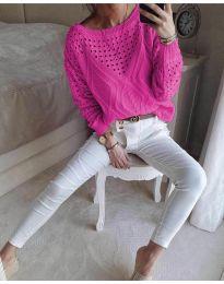 Bluza - cod 6182 - ciclamă