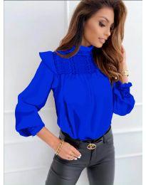 Bluza - cod 6202 - albastru închis