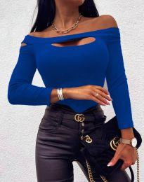 Bluza - cod 11601 - 8 - cer albastru