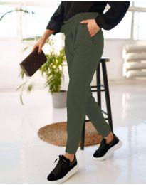 Pantaloni - cod 4750 - 4 verde unt