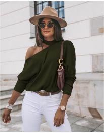 Bluza - cod 5618 - verde unt