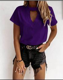 Tricou - cod 3597 - violet închis