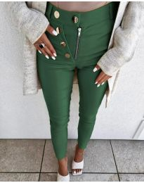 Pantaloni - cod 1874 - verde inchis