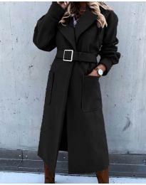 Palton - cod 423 - negru