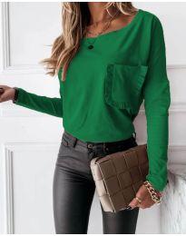 Bluza - cod 4450 - 2 - verde