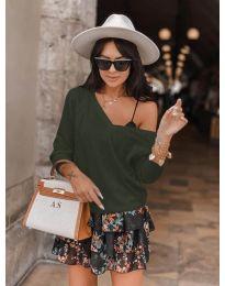 Bluza - cod 6013 - verde unt