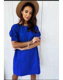 Rochie - cod 9868 - albastru