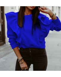 Bluza - cod 3890 - cer albastru