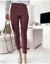 Pantaloni - cod 2788 - 5 - bordo