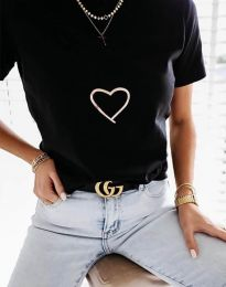 Tricou - cod 3701 - negru