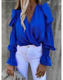 Bluza - cod 5451 - albastru