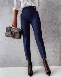 Pantaloni - cod 4895 - albastru închis