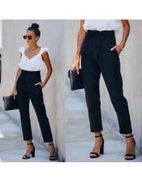 Pantaloni - cod 6077 - 8 - negru