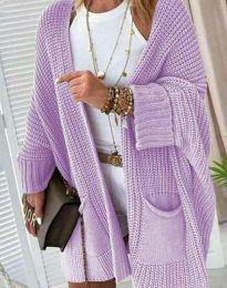 Cardigan - cod 7593 - violet