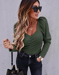 Bluza - cod 394 - verde unt