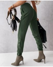 Pantaloni - cod 3987 - verde unt