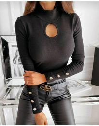 Bluza - cod 9917 - negru