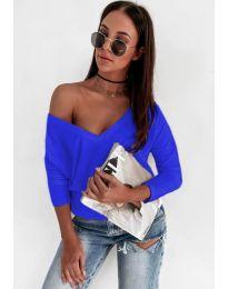 Bluza - cod 3478 - albastru