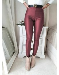 Pantaloni - cod 2789 - 5 - bordo