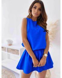 Rochie - cod 477 - cer albastru