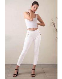 Pantaloni - cod 733 - 3 - alb