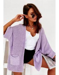 Cardigan - cod 6850 - violet