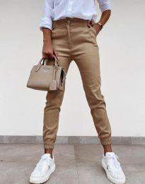 Pantaloni - cod 4464 - cappuccino