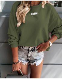 Bluza - cod 5154 - verde unt