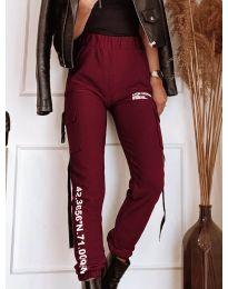 Pantaloni - cod 1142 - bordo