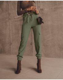 Pantaloni - cod 2985 - verde unt