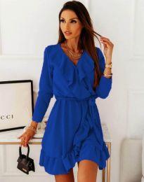 Rochie - cod 0578 - 4 - cer albastru