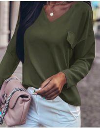 Bluza - cod 0802 - verde unt