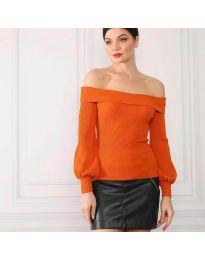 Bluza - cod 0247 - portocaliu