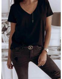 Tricou - cod 3638 - negru