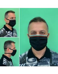 Mască - cod 015 - negru
