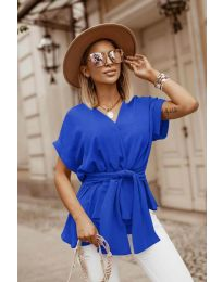 Bluza - cod 3070 - albastru închis